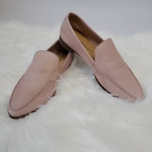 Lucky Brand Bejaz Pink Leather Loafers SZ 5 1/2 M